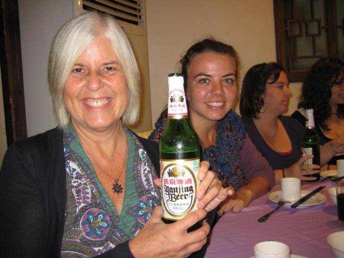 me, suzanne & yanjing beer
