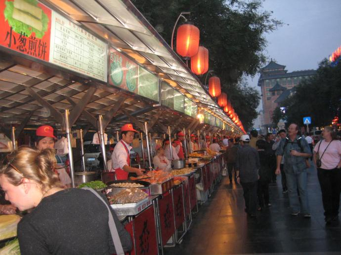 wangfujing food street