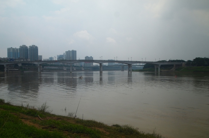 the river in Nanning
