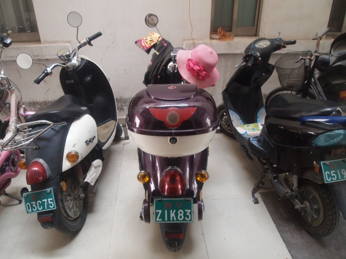 motorbikes with personality