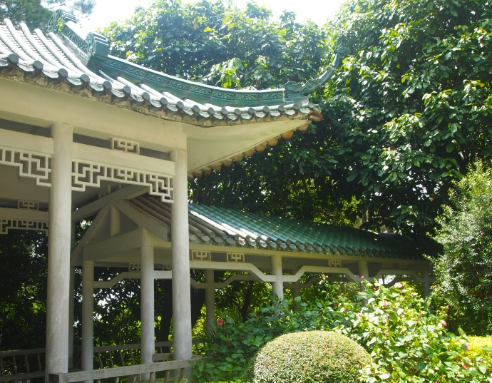 another pavilion beside the tower