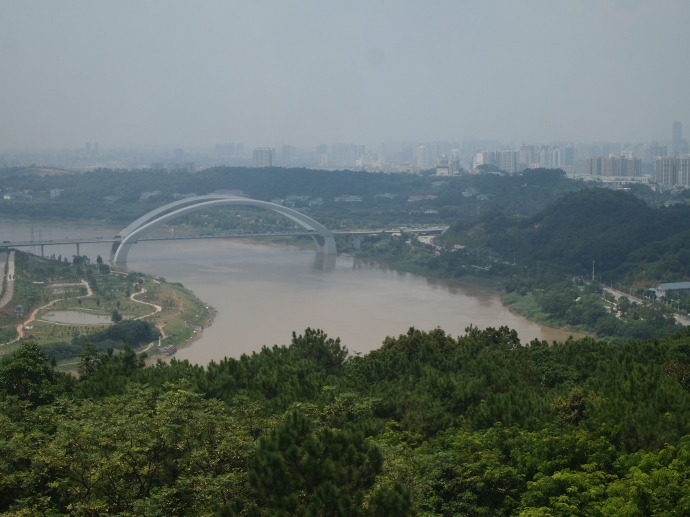 Nanning and the Yongjiang River