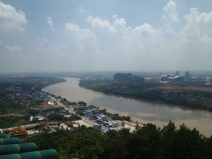 Yongjiang River looking east