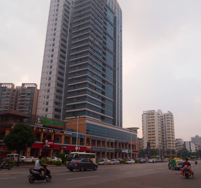 street outside the East Gate