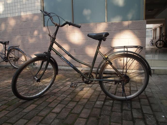my university-issue bike