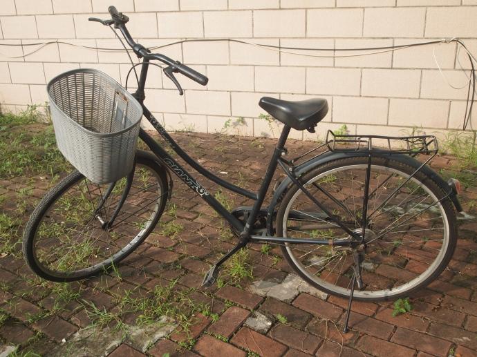 My bike... it's a very very very fine bike....
