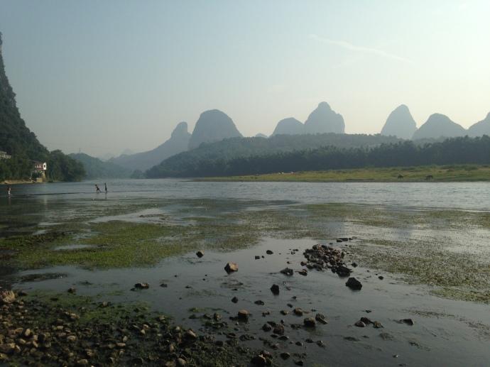 The Li River on a Sunday morning