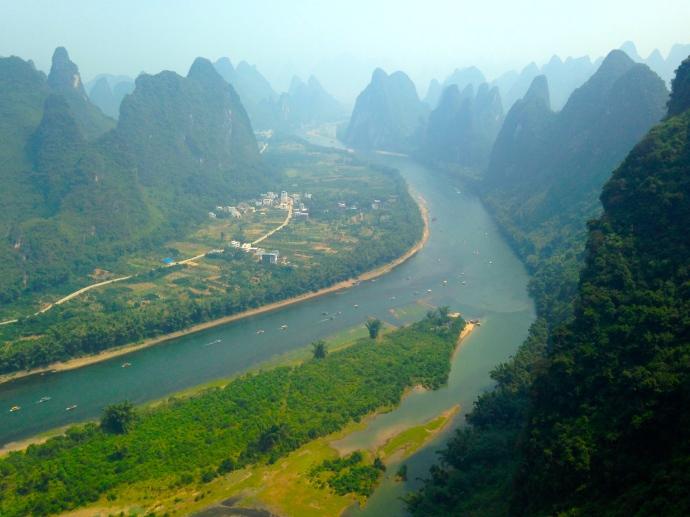 last view toward Xingping