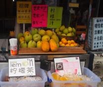 Fruit juice stand