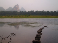 Li River and karsts