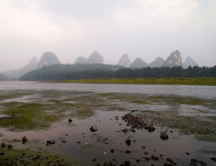 Li River from Yangshuo