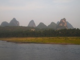 Li River view from Yangshuo