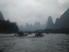 Magical landscape of the Li River