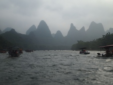 Li River cruising