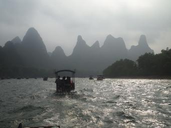 boats on the Li River