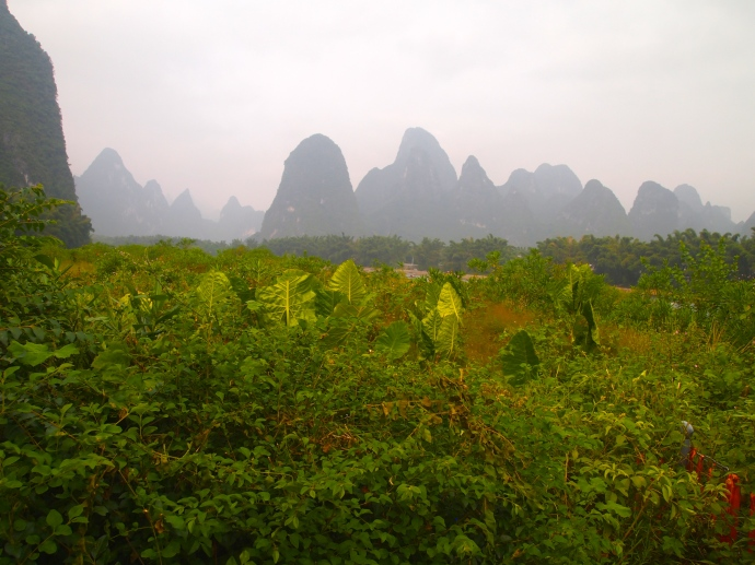 karst landscape of Xingping