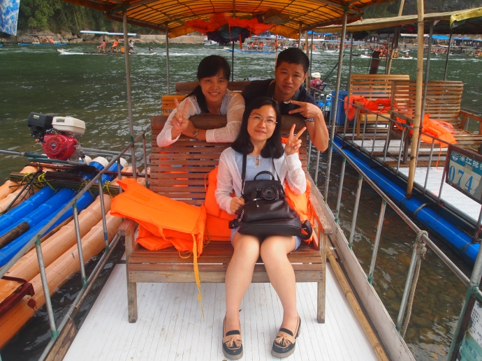 My 3 boat mates on a memorable cruise