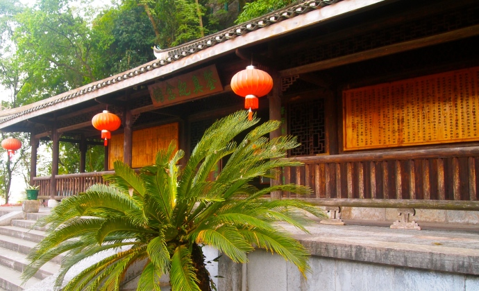 Jianshan Tower, formerly Jianshan temple