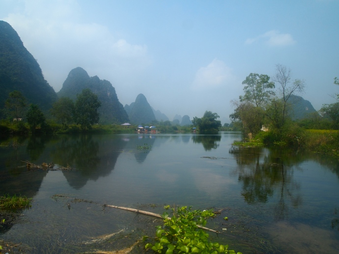 The Yulong River away from the crowds