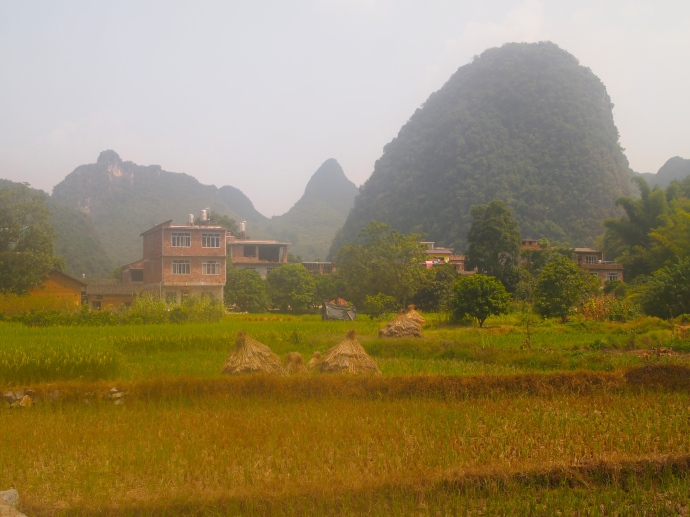 Rural Chinese houses