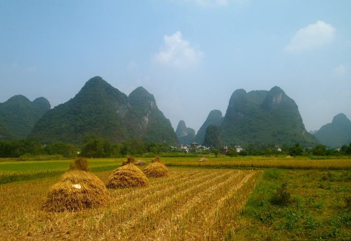More haystacks