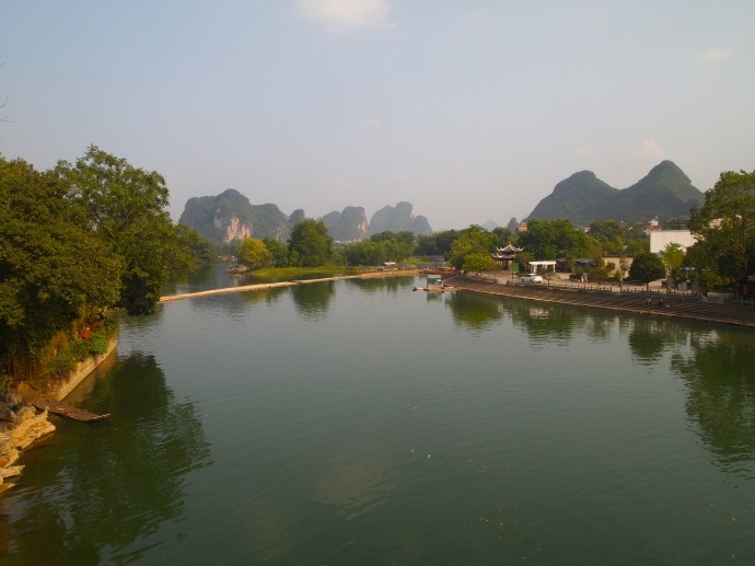on the way back to Yangshuo