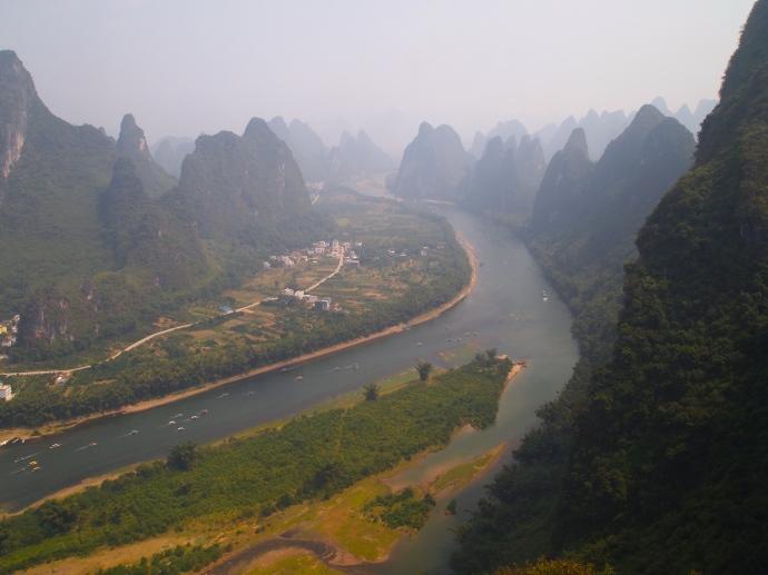 view south toward Xingping