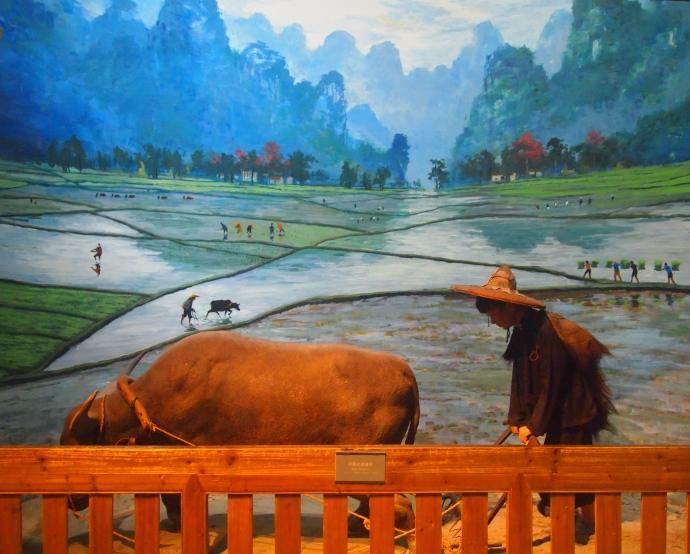 Spring ploughing of Jingxi Zhuang