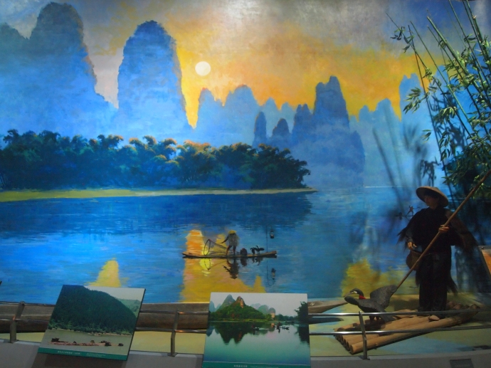 Fishing with cormorants on the LiJiang River