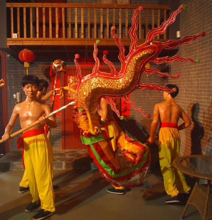 Firecracker Dragon Dance of the Binyang Han