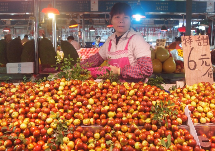 jujube and vendor