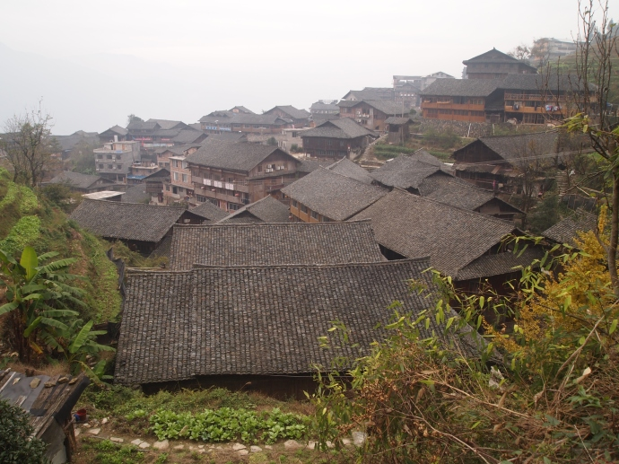 rooftops of Ping'An
