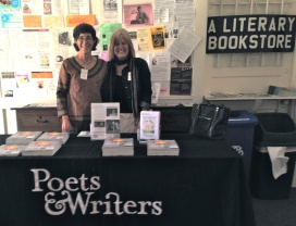 Rosie & me at Poets & Writers LIVE!