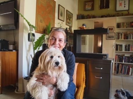 Stephanie & her pooch