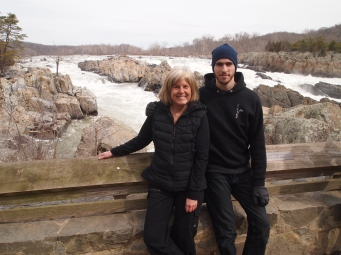 Me with Alex at Great Falls