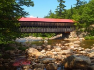 Albany Covered Bridge along the Kancamagus Highway
