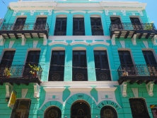 Old San Juan's colorful buildings