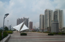 downtown Nanning