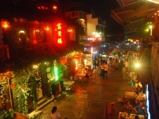 Yangshuo at night