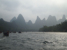 Karst landscape on the Li River