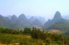 Countryside north of Yangshuo