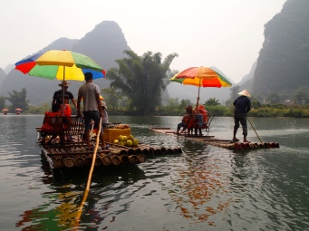 Yulong River rafting