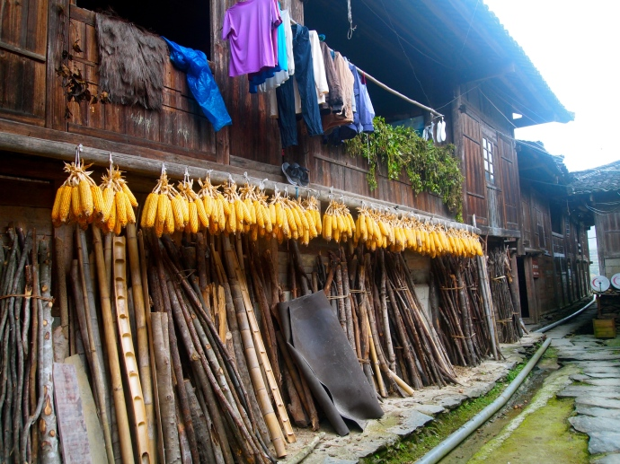 clothing corn and bamboo