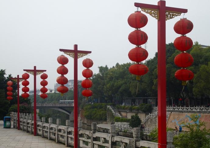 riverside lanterns