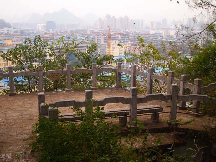 viewpoint with pretty fences