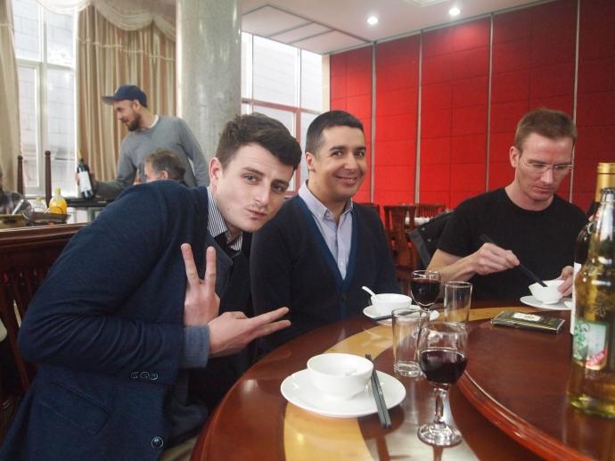Geoff, Gavin and Colton