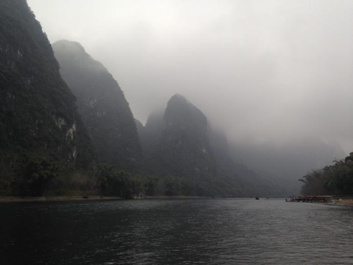 on the Li River