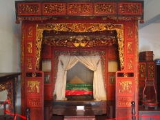Bed in Museum of Ancient Town