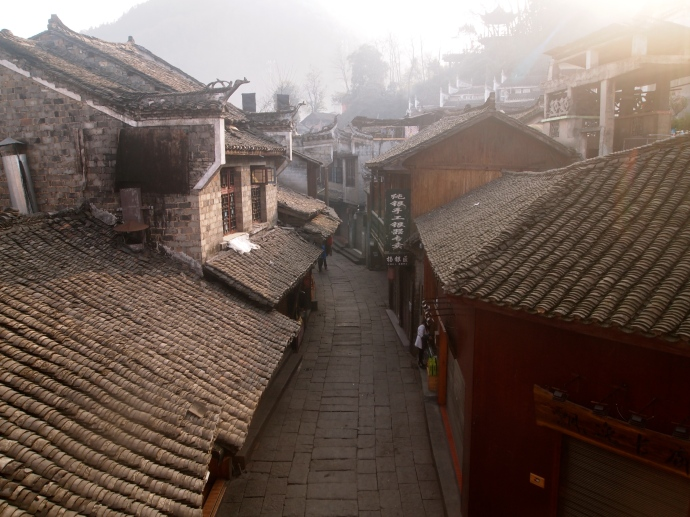 Rooftops of Fenghuang
