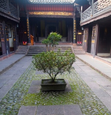 Courtyard at Yang's Ancestral Temple